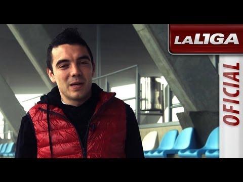 Test a Iago Aspas, jugador del Celta de Vigo - HD