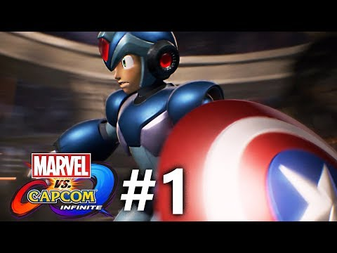 Marvel vs Capcom: Infinite - Story Mode Part #1 |