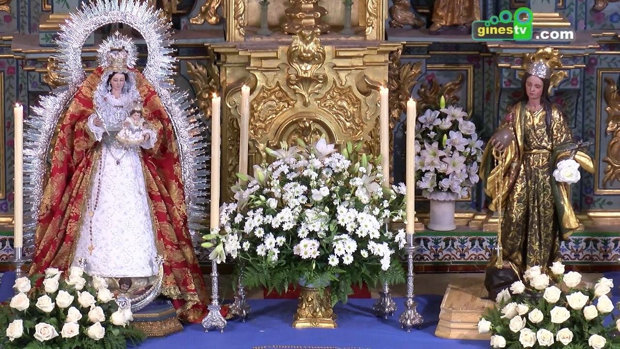 Eduardo Galindo pronunció un Pregón del Santo Rosario lleno de devoción y fe