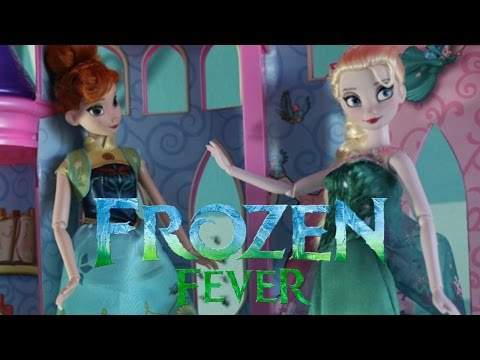 Frozen Fever : Touch of Ice : Stop Motion