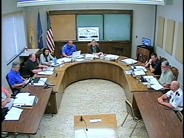 09 03 19 Wabasha City Council Meeting