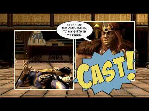 Comic Jumper: The Adventures of Captain Smiley XBLA E3 Demo intro