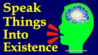 Use Your Subconscious Mind Power To Speak Things Into Existence (TRY IT!)