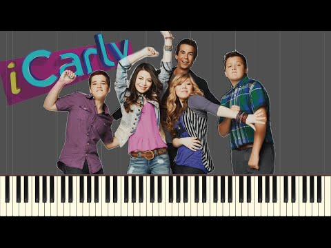 iCarly Opening - Leave It All To Me (TV Size) [Piano Tutorial](Synthesia)