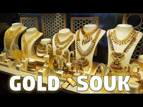 IL MERCATO D'ORO A DUBAI  💰 Vi Porto Al Gold Souk