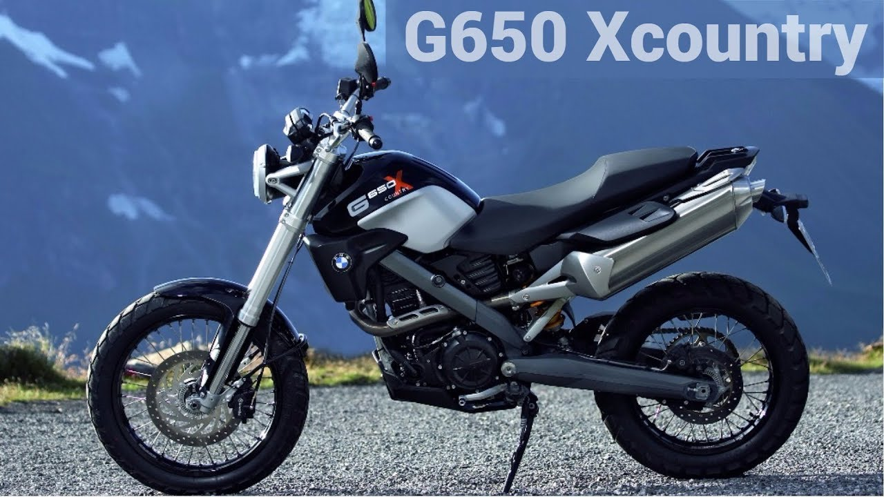 Bmw G 650 Xcountry 2006 2012 Review And Ride Youtube