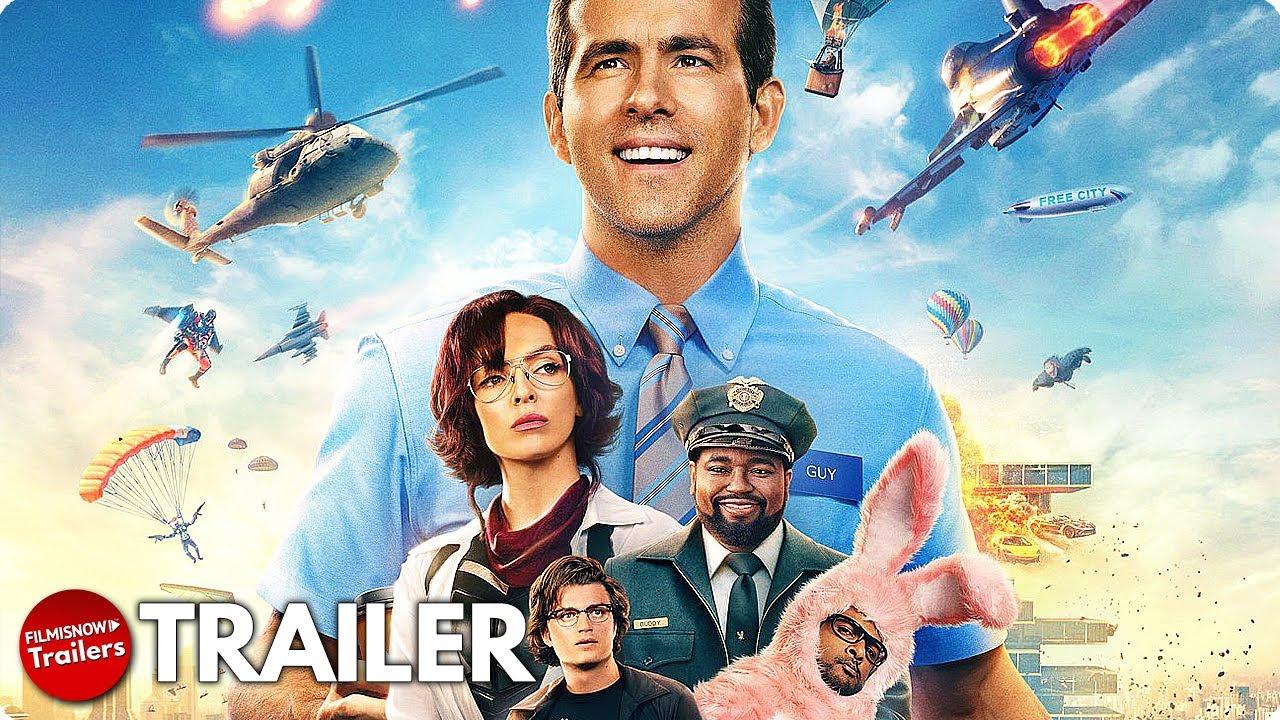 FREE GUY Trailer NEW 20 Ryan Reynolds Action Comedy Movie