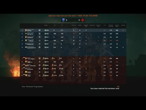 Warface EU Clan War R3VOLUTION vs Revolt. YARD 10.8.2016