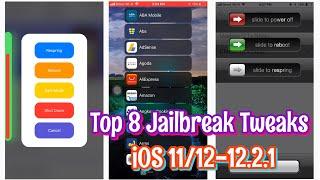 Top 8 BEST Jailbreak Tweaks for iOS 11/12 - 12.1.2 (Cydia&Sileo)