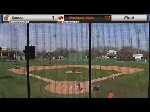 Oklahoma State Cowboy Baseball vs. Kansas (Game 1)