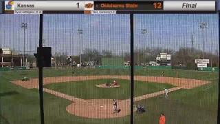Oklahoma State Cowboy Baseball vs. Kansas (Game 1)
