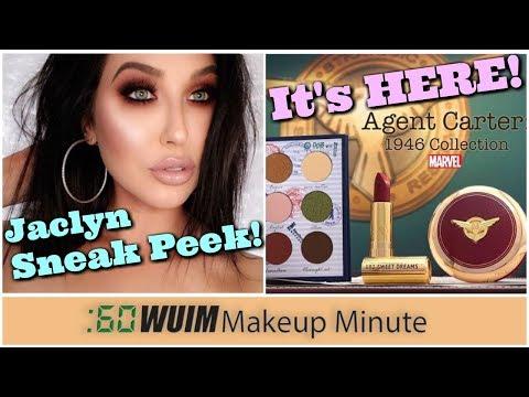 Jaclyn Hill Sneaks Eyeshadow Coming Soon! Besame Agent Carter is HERE! | Makeup Minute