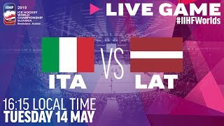 Italy vs. Latvia | Full Game | 2019 IIHF Ice Hockey World Championship