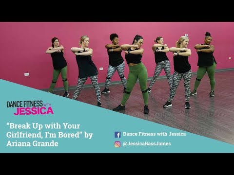 """Break Up With Your Girlfriend"" By Ariana Grande - Dance Fitness With Jessica (Live Stream View)"