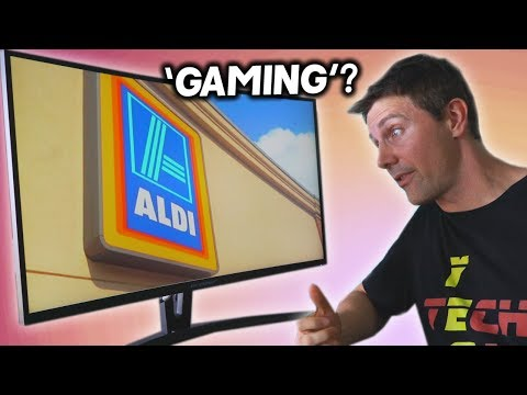 """ALDI Released A 27"""" 144HZ PLS Gaming Monitor... It's The BEST Value I've Seen..."""