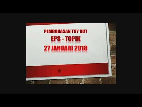 Pembahasa Soal Tryout EPS-TOPIK 20180127 - LPK Bina Insani Yogyakarta