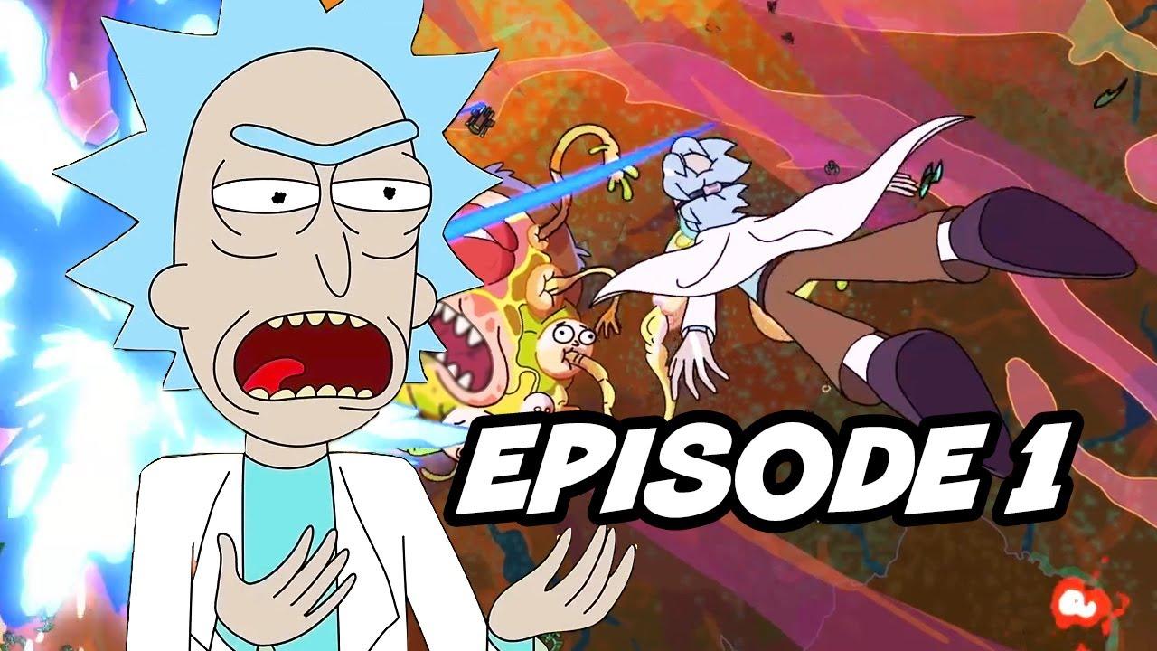 Download Rick and Morty Season 4 Episode 1 Opening Scene Easter Eggs Breakdown