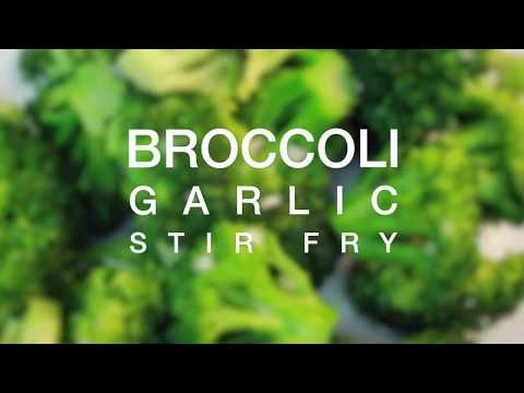 Broccoli Garlic Stir fry
