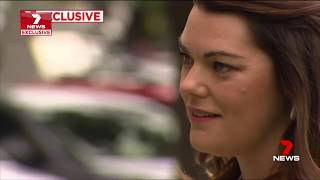 Seven News Exclusive. Marxists Hanson-Young Threatened By Police Man.(New South Wales)