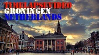 Timelapse motion Groningen/Netherlands-Таймлапс видео Гронинген/Голландия