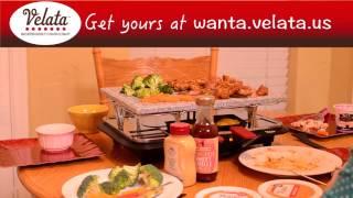 Velata Raclette In Action!