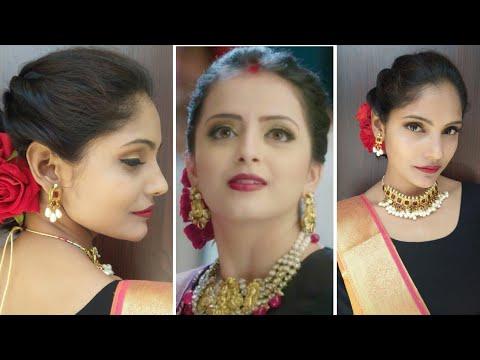 ek-bhram...-sarvagun-sampnn-jhanvi-mittal-makeup-  -shrenu-parikh's-makeup-2019