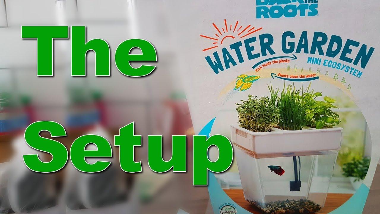 2019 New Style Back To The Roots Water Garden Fish Tank Mini Ecosystem Organic Herbs Microgreen Fish & Aquariums