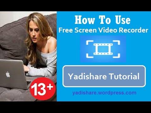 Cara Menggunakan Free Screen Video Recorder