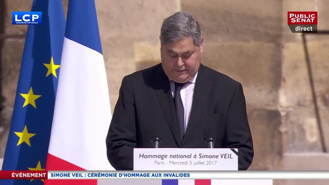 Pierre François Veil rend hommage à sa mère, Simone Veil