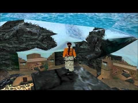 Tomb Raider 3 Antarctica - Meteorite Cavern Walkthrough HD  