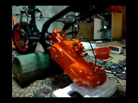 видео: проект нового скутера