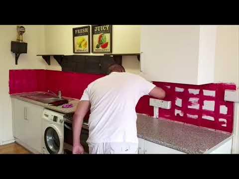 Como pintar azulejos cocina y ba os youtube - Como pintar azulejos cocina ...