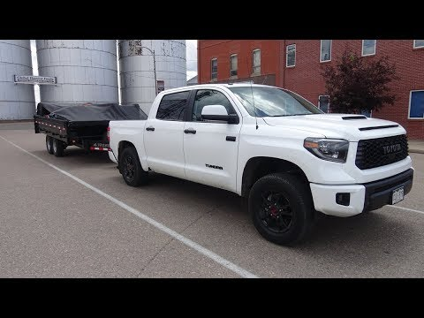 Toyota Tundra Towing Capacity >> 2019 Toyota Tundra Trd Pro Towing Trailers In Colorado