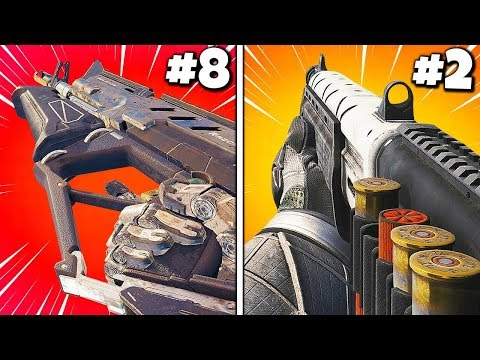 Top 10 BEST MAX LEVEL GUNS in Cod History
