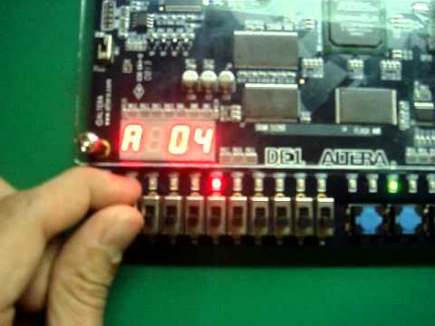 Digital Electronics Mini Project - YouTube