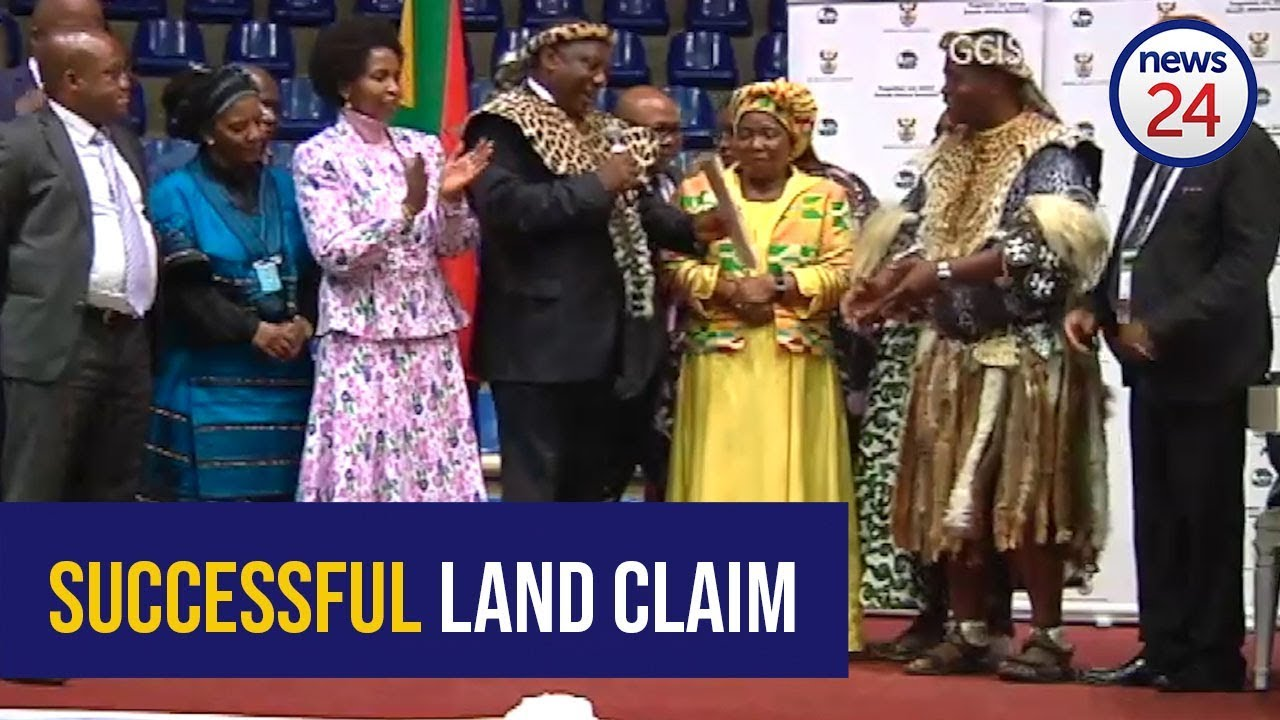 WATCH: Ramaphosa handing over 4 586 hectares of land to a KZN community