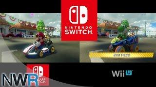 Mario Kart 8 Switch vs. Wii U Comparison