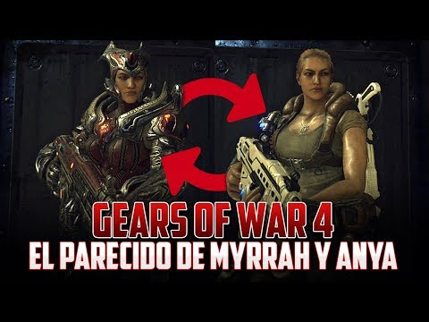 Gears of War 4   El Gran parecido entre Myrrah y Anya!!