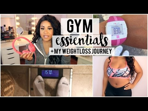 my-gym-essentials-+-weight-loss-journey-chit-chat!