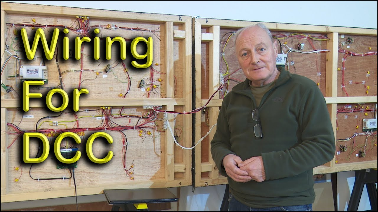 small resolution of model railway dcc wiring