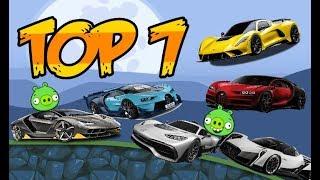 Top 7: Hypercars in Bad Piggies