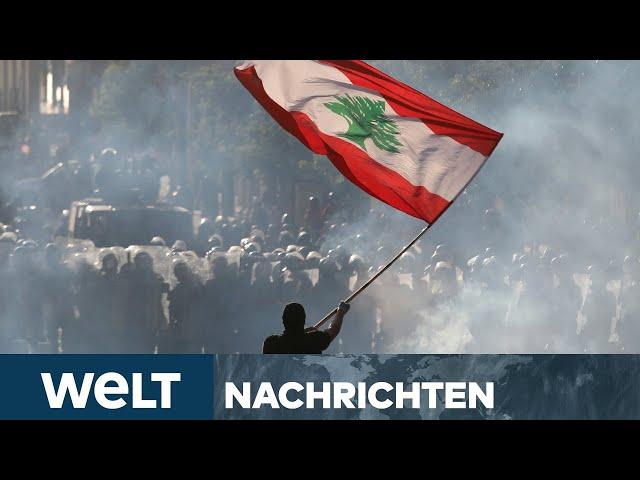 WELT NEWS-STREAM: Krise im Libanon - Nach Mega-Explosion droht Beirut ins Chaos abzugleiten