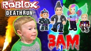 Spielen Sie nicht Roblox DeathRun bei 3AM Streich   DavidsTV