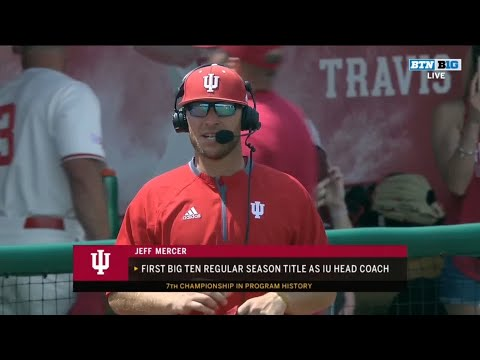 Indiana claims outright Big Ten baseball championship