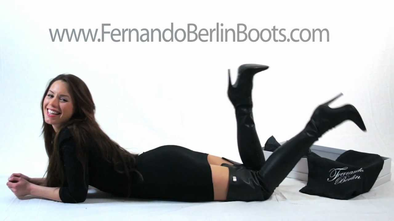 Fernando Berlin Leather Boots - Made to Measure - YouTube