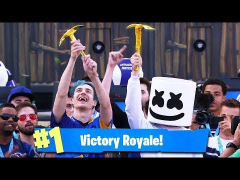 Crazy $1,000,000 Fortnite Celebrity Pro-Am Duo Tournament (Full Game)