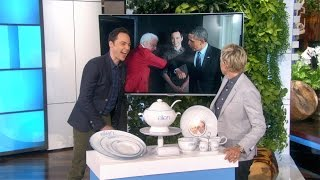 Jim Parsons on Meeting the President