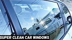 HOW TO SUPER CLEAN YOUR CAR WINDOWS. Amazing Results
