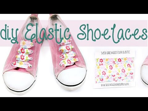 How to make your own DIY elastic shoelaces (no tie shoe laces in no time!)