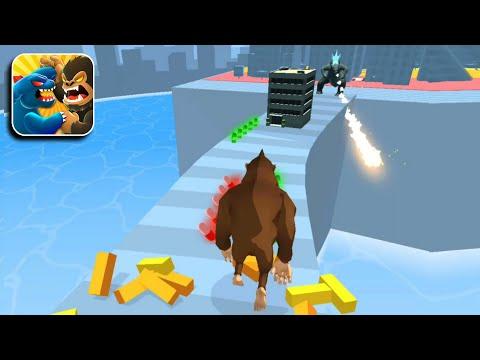 Kaiju Run Max Level - All Levels Gameplay (iOS U0026 Android) Walkthrough Part 1